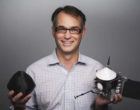 UA alumnus Dante Lauretta led the design, build and launch of a spacecraft to Bennu, a near-Earth asteroid, to collect a sample and return that sample to Earth. (Photo: Symeon Platts/UA)