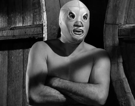 "Rodolfo Guzmán Huerta, also known as El Santo, stars in the 1961 film ""Santo Contra El Cerebro Del Mal (Santo Vs. the Evil Brain),"" which will screen at the Fox Tucson Theatre as part of Tucson Cine Mexico."