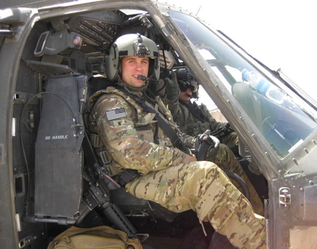 """My time as an Army medic was my first experience in the medical field and the foundation for my desire to become a physician,"" said Tillman Scholar Neil Vigil, a student at the UA College of Medicine — Phoenix. (Courtesy of Neil Vigil)"