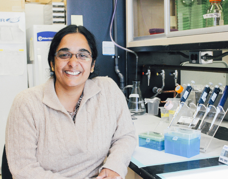 "Dr. Lalitha Madhavan: ""I really enjoyed my job as a physician, but I knew that if I really wanted to make a difference and change things, I needed to pair it with research."""