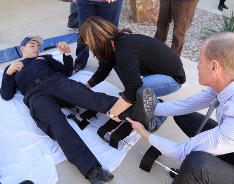 The Rural Trauma Team Development Course is one of many AzFlex-supported training programs for Critical Access Hospital staff, local fire departments and EMS.