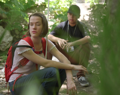 Maggie Lindsay is one of 10 students, from middle and high schools across Arizona, to take place in the UA's Project POEM, a National Science Foundation-funded program designed to motivate teens toward careers in STEM. (Photo: Bob Demers/UANews)