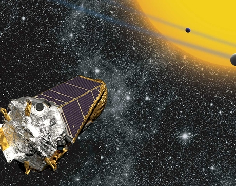 The Kepler spacecraft (Image: NASA)