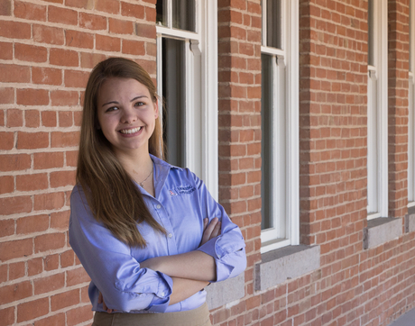 """My experiences over the past four years have been instrumental in getting me to this point. I've been surrounded by incredible faculty, friends and classmates who have supported me, challenged me and taught me so much,"" Jeannie Wilkening says. (Photo courtesy of the UA College of Engineering)"
