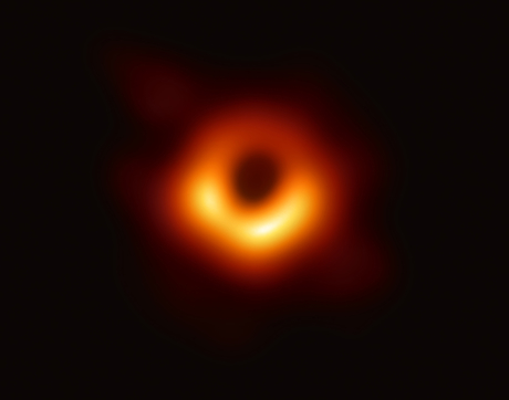 On April 10, EHT researchers revealed the first direct visual evidence of the supermassive black hole in the center of Messier 87 and its shadow. (Image: EHT Collaboration)