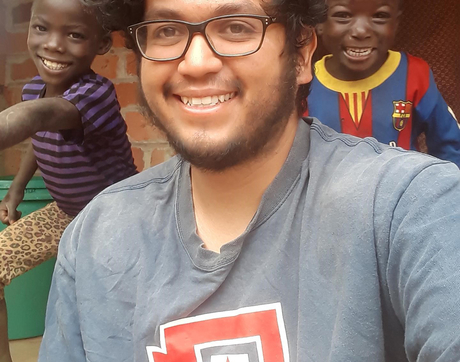UA alumnus Gabriel Camacho is serving as a Peace Corps health volunteer in Zambia. (Photo courtesy of Peace Corps)