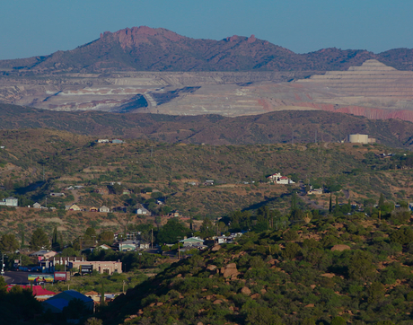 Communities like Globe-Miami neighbor mining and hazardous waste sites. The University of Arizona Superfund Research Center provides funding for researchers to collaborate alongside communities to better understand environmental and public health concerns. (Photo: Landmark Stories)