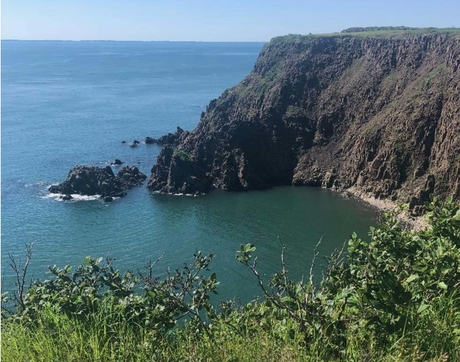 "Kim Bussing's post on Grand Manan Island focused on the role of women in its past and current culture, writing, ""This is an island built by women."" (Photo: Kim Bussing)"
