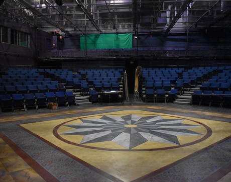 """The Arizona Repertory Theatre canceled its production of """"The Light in the Piazza"""" before the set could be completed. (Photo courtesy of Hank Stratton)"""