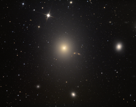 Adam Block's photo of the Messier 87 galaxy. (Photo: Adam Block)