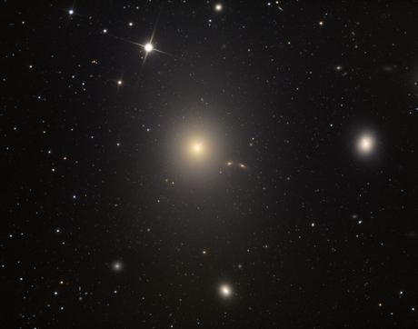 Adam Block's photo of the Messier 87 galaxy. (Photo: Adam Block)