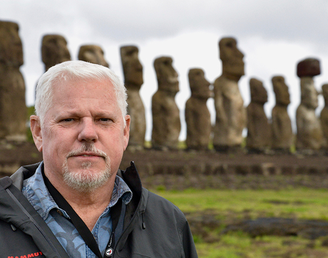 Terry Hunt is one of the world's foremost experts on the Pacific Islands, which includes Rapa Nui, better known as Easter Island.
