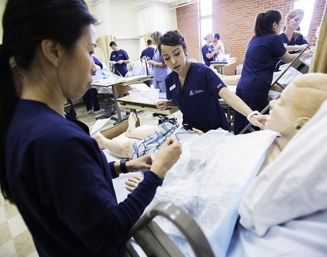 The largest portion of the gift, $1 million, will be used by the College of Nursing to enhance simulation facilities at the Tucson, Phoenix and Gilbert campuses. (Photo courtesy of College of Nursing)