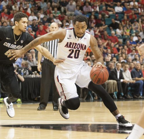 UA guard Jordin Mayes (Photo by Lida DeGroote)