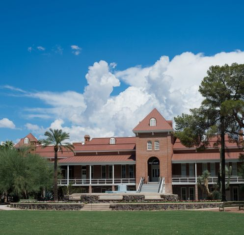 Recognition continues for the renovation of Old Main. (Photo: Jacob Chinn/UA Alumni Association)