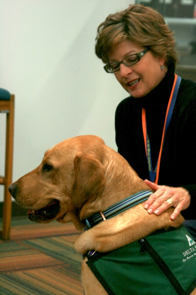 Pets Therapy Melts Away Stress During Finals Uanews