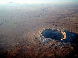Scientists Solve Mystery of Meteor Crater's Missing Melted