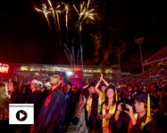 The UA's 152nd Commencement was held in honor of about 6,000 undergraduate and graduate students who earned their degrees from locations that include the UA's main campus, UA South, UA North Valley and UA Online. (Photo: John de Dios/UANews)