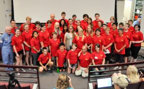 The campers – 14 boys and 16 girls from 14 different states and four Arizona cities – experienced a week of full immersion in science and technology.