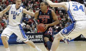 The UA's Derrick Williams scored a career-high 32 points against Duke. (Photo courtesy of Arizona Athletics)