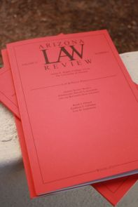 Arizona Law Review (Photo credit: Beatriz Verdugo/UANews)