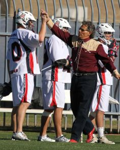Students come from across the nation and other parts of the world to play for the UA's Laxcats lacrosse team, said Mickey-Miles Felton, the head coach. (Photo credit: Chris Hook)