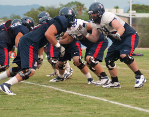 The Wildcats are prepped for the official opening of their annual fall camp. (Photo credit: Patrick McArdle/UANews)