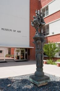 Located adjacent to one another, the UA School of Art and UAMA grew into independent units over time. But, more recently, there has been an effort to better unify the units once again. (Patrick McArdle/UANews)