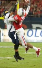 UA senior wide receiver Juron Criner is considered one of the nation's best. (Photo credit: Luke Adams)