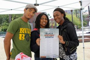 Film screenings, lectures, a safety training and an annual block party are among the Black History Month events being sponsored at UA. (Photo credit: Beatriz Verdugo/UANews)