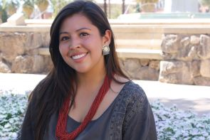 Udall Scholar Carol Seanez also was named Miss Native American University of Arizona in 2012. (Photo credit: Beatriz Verdugo/UANews)