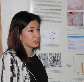 UA junior Ersilia Anghel plans to become a physician-scientist, conducting clinical research and developing novel treatments for improving tissue healing. She spent the summer of 2010 collaborating with an international group investigating wound healing.