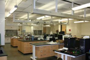 Neal Armstrong's lab in the UA Chemical Sciences building. (click to enlarge)