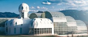 People lived in the Biosphere 2 in the early 1990s as part of a study on survivability in a sealed environment. Now, visitors can check out an apartment, kitchen and the farm area where study participants grew their crops.