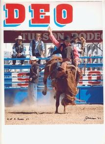 The UA competes in 10 intercollegiate rodeos a year. (Photo courtesy of John Marchello)