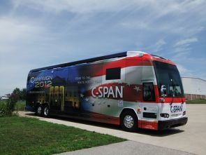 The C-SPAN Campaign 2012 Bus will make a stop on the UA Mall on March 8.