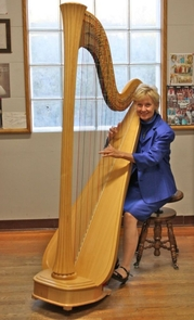 Renowned harpist Carrol McLaughlin, from the UA School of Music, wanted to see how harp music might contribute to healing for ICU patients.