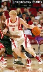 Chase Budinger begins his third NBA season with the Houston Rockets.