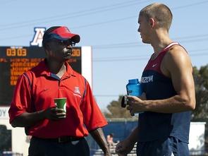 Coach Fred Harvey (Photo by J&L Photo)