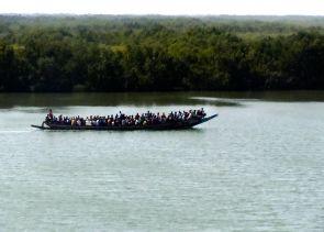 """Cruising on the Casamance,"" Senegal, 2011."