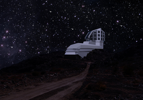 Located in the foothills of the Andes Mountains in Chile, the Large Synoptic Survey Telescope will photograph the entire Southern Hemisphere of the sky every three days for ten years beginning in 2022. (Image courtesy of Suzanne Jacoby/LSST Project Office)