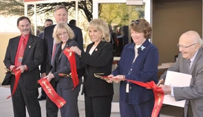 The Arizona Center for Innovation was dedicated on Jan. 18 in a ceremony at the UA Tech Park.