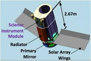If selected for flight, EXCEDE will use a 2.3 foot (.7 meter) primary mirror and a sophisticated starlight suppression system that will enable astronomers to observe the regions around stars otherwise hidden by starlight. (Photo credit: Glenn Schneider/Steward Observatory)