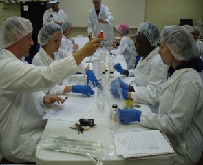 Clinical rotations in pathology and public practice are planned for the final year of the professional program at UA. (Photo courtesy of College of Agriculture and Life Sciences)