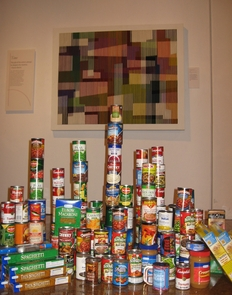 """""""Food 4 Art,"""" a food drive coordinated through the UA Museum of Art, is donating its collected items to the Community Food Bank of Southern Arizona."""
