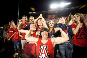 On Fridays before home football games, the UA BookStores offers 25 percent off UA apparrel and merchandise.