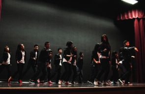 Asian Pacific American Heritage Month kicked off at the UA earlier this month with the Diaclones hip hop dance crew performing during the opening ceremony. (Photo credit: Neil Peters)