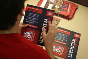 While the UA's application deadline for the 2014-2015 term is not until May 1, 2014, the University has already begun informing applicants that they are welcome to join the Wildcat family under a new early decision initiative.