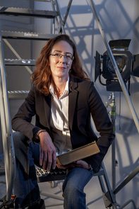 Jessica Maerz, an assistant professor in the School of Theatre, Film and Television, is an expert in theatre history, particularly Shakespeare and early modern drama. (Photo: John de Dios/UANews)