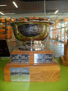 The silver Jenckes Cup currently resides in the UA college of law.